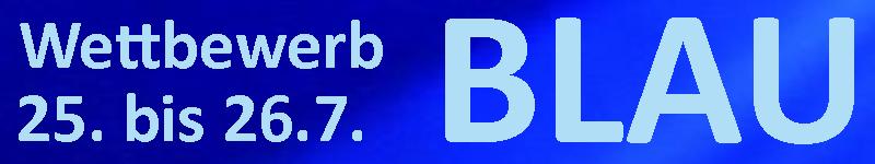 """Fotowettbewerb Hausaufgabe """"Blau"""""""